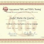 @IsabelD 120-hour TEFL Certificate (iTTT)