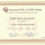 @IsabelD TEFL Certificate in Business English (iTTT)